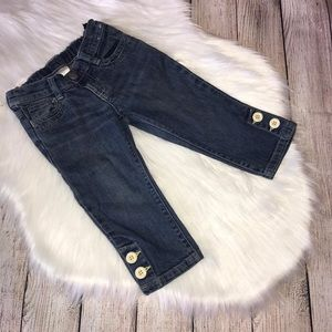 Gymboree outlet cropped jeans size 3t